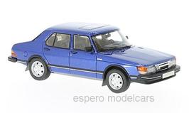 Saab 900 GLi Sedan Phase I 1980-1986 dunkelblau met.