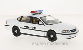 Chevrolet Impala VIII 1999-2005 Police weiss