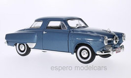 Studebaker Campion Starlight Coupé 1950 blau met.