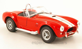Shelby Cobra 427 SC 1966-1973 rot / weiss