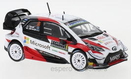 Toyota Yaris WRC #8 Microsoft Rallye WM Rallye Monte Carlo 2019 O.Tänak / M. Järvenoja