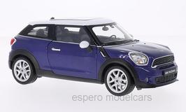 Mini Cooper S Paceman seit 2013 blau met / weiss