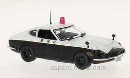 "Datsun 240Z Fairlady 1969-1973 ""Police Japan"" schwarz / weiss"