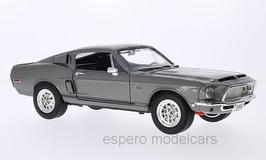 Ford Mustang Shelby GT-500KR 1968 dunkelgrau met. mit schwarzen Streifen