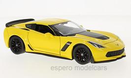 Chevrolet Corvette C7 Z06 seit 2014 gelb / schwarz