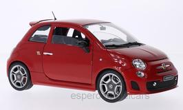 Fiat 500 Abarth 2008-2013 rot