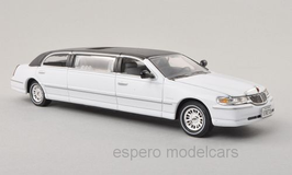 Lincoln Town Car Strech-Limo 2000 weiss / schwarz