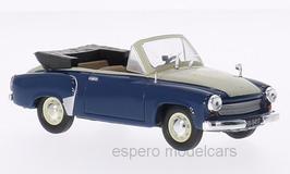 Wartburg 311-2 Cabriolet 1956-1960 dunkelblau / weiss
