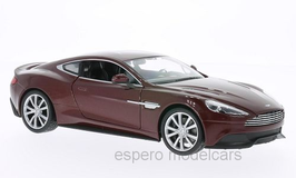 Aston Martin Vanquish seit 2012 dunkelrot met.