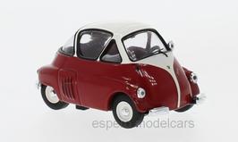 ISO Isetta 1953-1955 dunkelrot / weiss