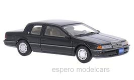 Mercury Cougar VII Coupé LS Phase I 1988-1990 schwarz