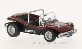 Bugre Buggy 1970 dunkelrot met. / schwarz