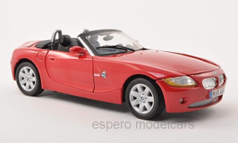 BMW Z4 E85 Roadster Phase I 2002-2006 rot