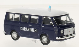 Fiat 238 Phase I 1966-1968 Carabinieri  dunkelblau / weiss