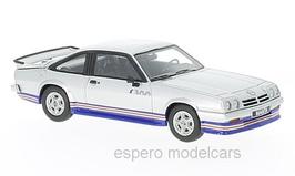 Opel Manta B i200 1985 silber met. / blau / rot