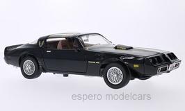 Pontiac Firebird TransAm II Phase III 1979-1981 schwarz mit Decor