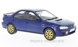 Subaru Impreza WRX STi 1995-1996 RHD dunkelblau