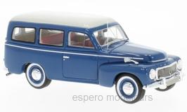 Volvo PV445 Duett Phase I 1952-1960 dunkelblau / weiss