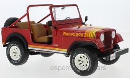 Jeep CJ-7 Renegade 1976-1986 rot / gelb / orange