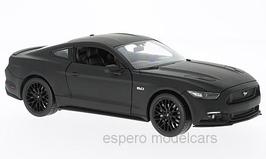 Ford Mustang GT VI ab 2015 matt-schwarz