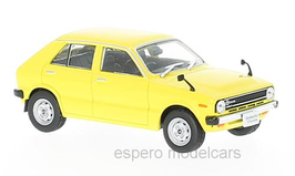 Daihatsu Charade I G10 Phase I 1977-1980 gelb