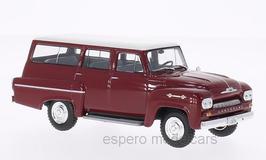 Chevrolet-Brasil Amazona 1963 dunkelrot / weiss