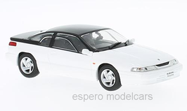 Subaru SVX Alcyone 1991-1997 RHD weiss met. / schwarz