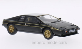 Lotus Esprit S2 1978-1981 World Champion Edition RHD schwarz