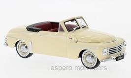 Volvo PV445 Cabriolet Valbo 1952-1953 beige