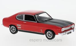 Ford Capri MK I 1700 GT 1968-1972 rot / matt-schwarz