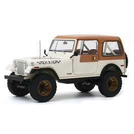 "Jeep CJ-7 Golden Eagle 1979 ""TV-Serie Dixie Dukes of Hazzard creme/ matt-braun"