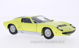 Lamborghini Miura P400 S 1968-1971 gelb