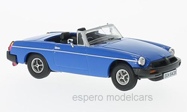 MG B Roadster MK III 1974-1980 Pageant Blue