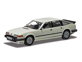 Rover SD1 3500 V8 Vitesse 1982-1986 RHD weiss / schwarz