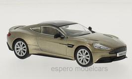 Aston Martin Vanquish seit 2012 RHD Selene Bronze met. / schwarz