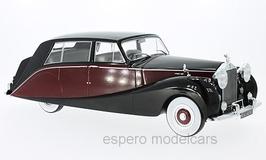 Rolls Royce Silver Wraith Empress by Hooper 1956 dunkelrot / schwarz
