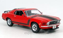 ProduktnFord Mustang Boss 1970 rot /matt-schwarz