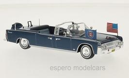 Lincoln Continental SS-100-X 1963 J. F. Kennedy dunkelblau