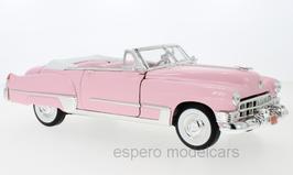 Cadillac Coupé DeVille Convertible 1949 pink