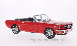 Ford Mustang Cabriolet 1964-1966 rot
