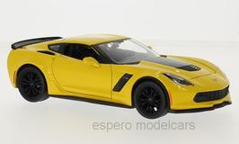 Chevrolet Corvette C7 Z06 2014-2019 gelb / matt-schwarz