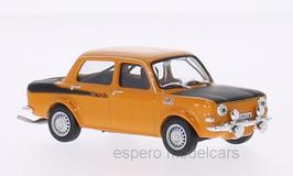 Simca 1000 Rallye 2 1972-1976 orange / matt-schwarz