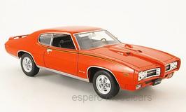 "Pontiac GTO ""The Judge"" 1969 orangerot"