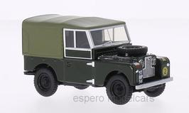 Land Rover Serie I 88 1948-1958 RHD Canvas REME dunkelgrün / oliv