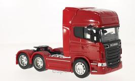 Scania R730 V8 6x2 LKW Zugmaschine seit 2010 rot / schwarz