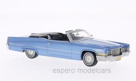Cadillac DeVille Convertible 1969-1970 hellblau met.