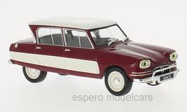 Citroën AMI 6 Berline 1961-1969 dunkelrot / weiss