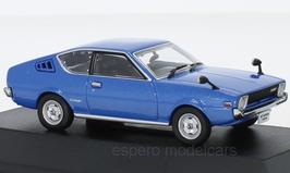 Mitsubishi Celeste Coupé Phase I 1975-1979 RHD dunkelblau met.