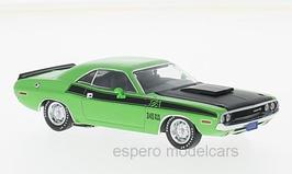 Dodge Challenger T/A 1970 grün / matt- schwarz
