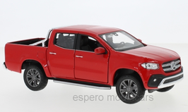 Mercedes-Benz X-Klasse 470 Pick Up / Doka 2018-2020 rot